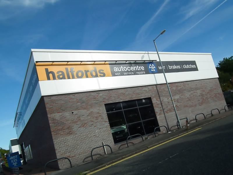 Halford Mot centre, Manchester